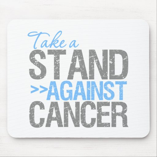 Take a Stand Against Cancer - Prostate Cancer Mousepad