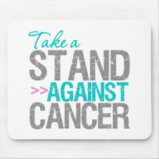 Take a Stand Against Cancer - Thyroid Cancer Mouse Pad