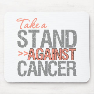 Take a Stand Against Cancer - Uterine Cancer Mouse Pad