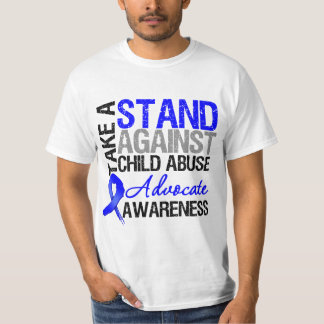 Take A Stand Against Child Abuse T-Shirt