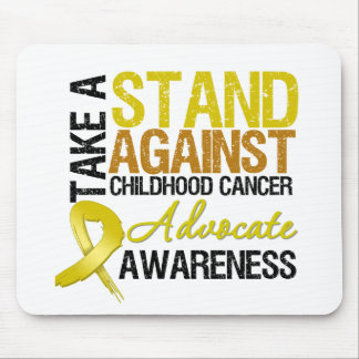 Take a Stand Against Childhood Cancer Mouse Pad
