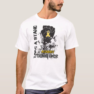 Take a Stand Against Childhood Cancer T-Shirt