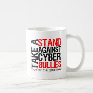 Take a Stand Against Cyber Bullies Classic White Coffee Mug