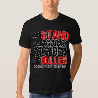 Take a Stand Against Cyber Bullies T Shirt