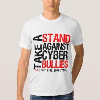 Take a Stand Against Cyber Bullies Tshirt