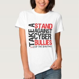 Take a Stand Against Cyber Bullies Tshirts
