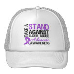 Take A Stand Against Elder Abuse Mesh Hats