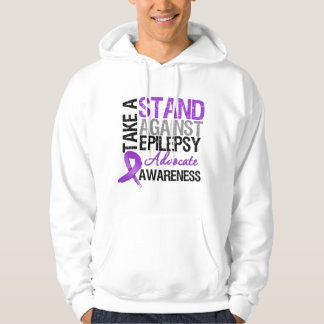 Take a Stand Against Epilepsy Hoodies