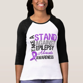 Take a Stand Against Epilepsy Tee Shirt