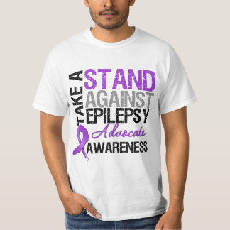 Take a Stand Against Epilepsy Tee Shirts