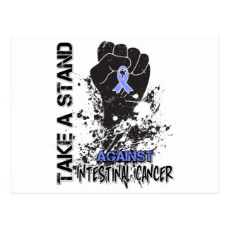 Take a Stand Against Intestinal Cancer Postcard