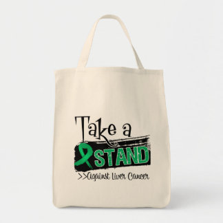 Take a Stand Against Liver Cancer Canvas Bag