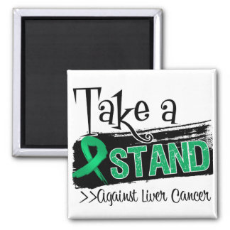 Take a Stand Against Liver Cancer Fridge Magnets
