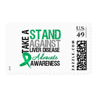 Take a Stand Against Liver Disease Postage Stamp