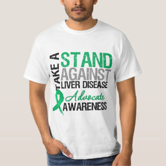 Take a Stand Against Liver Disease T-shirt
