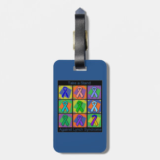 Take a Stand Against Lynch Syndrome Bag Tag
