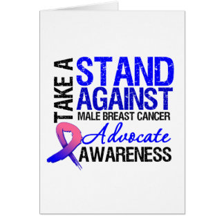 Take a Stand Against Male Breast Cancer Cards