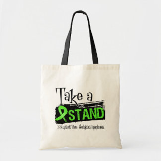 Take a Stand Against Non-Hodgkins Lymphoma Tote Bags