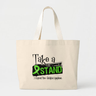 Take a Stand Against Non-Hodgkins Lymphoma Canvas Bags