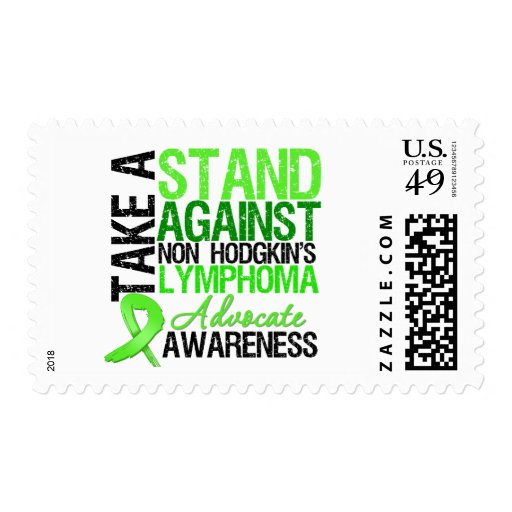Take a Stand Against Non Hodgkin's Lymphoma Stamps