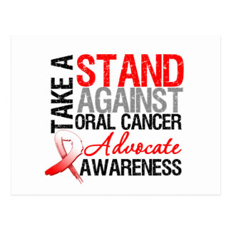 Take a Stand Against Oral Cancer Postcard