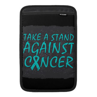 Take a Stand Against Ovarian Cancer MacBook Sleeve