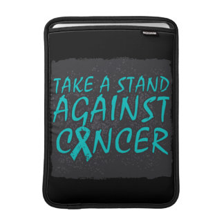 Take a Stand Against Ovarian Cancer Sleeve For MacBook Air