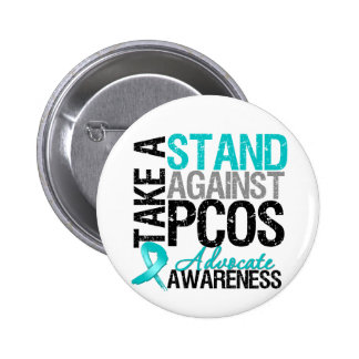 Take a Stand Against PCOS Button