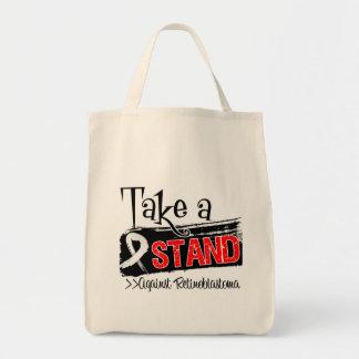 Take a Stand Against Retinoblastoma Grocery Tote Bag