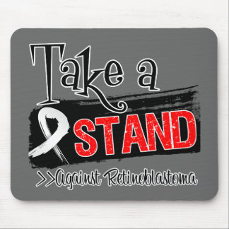 Take a Stand Against Retinoblastoma Mouse Pad