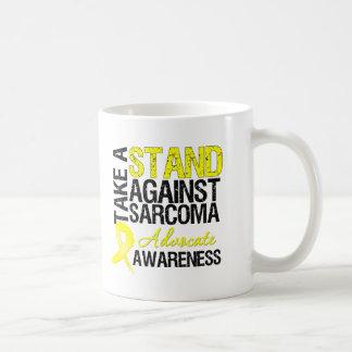 Take a Stand Against Sarcoma Classic White Coffee Mug
