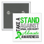 * Take a Stand Against Spinal Cord Injury Button