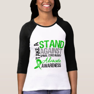 * Take a Stand Against Spinal Cord Injury Tee Shirt