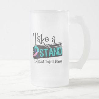 Take a Stand Against Thyroid Cancer Coffee Mugs