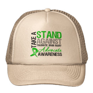 Take a Stand Against Traumatic Brain Injury TBI Hat