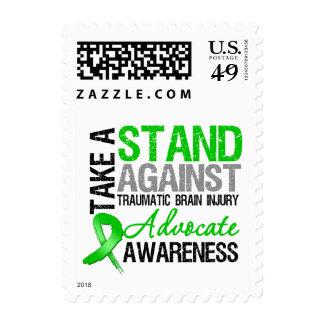 Take a Stand Against Traumatic Brain Injury (TBI) Stamp