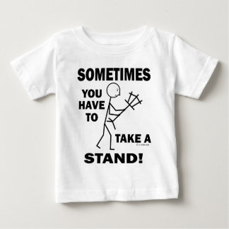 Take A Stand Baby T-Shirt