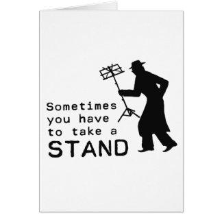 Take a Stand Card