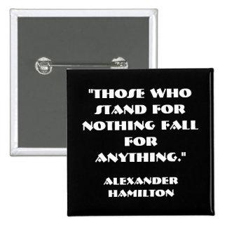 TAKE A STAND POLITICAL BUTTON