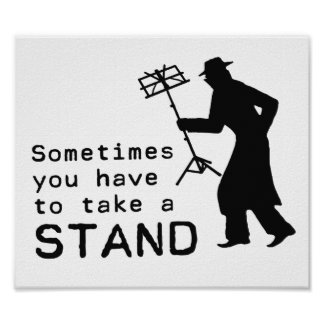 Take a Stand Poster