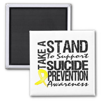 Take A Stand To Support Suicide Prevention Magnets