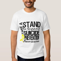 Take A Stand To Support Suicide Prevention Shirt
