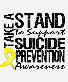Take A Stand To Support Suicide Prevention T Shirt