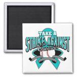 Take a Strike Against Gynecologic Cancer Magnets