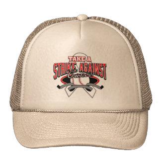 Take a Strike Against Lung Cancer Trucker Hat