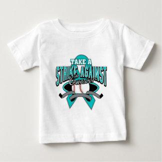 Take a Strike Against Ovarian Cancer Baby T-Shirt