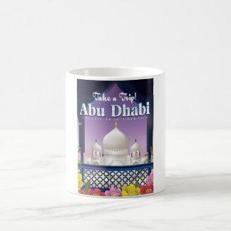 Take a Trip Abu Dhabi Vintage travel poster Coffee Mug