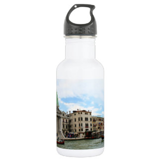 Take a trip down the Grand Canal in Venice 18oz Water Bottle