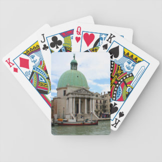 Take a trip down the Grand Canal in Venice Bicycle Playing Cards