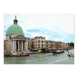Take a trip down the Grand Canal in Venice Card